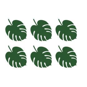 Tropsko lišće - 6 kom