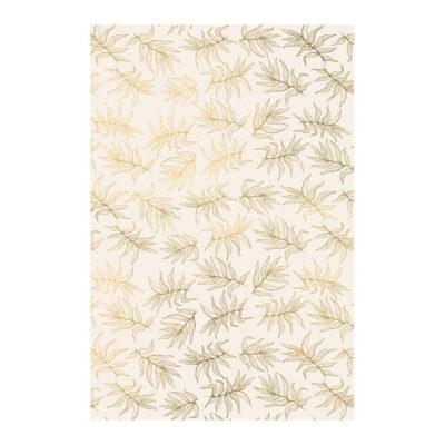 Ukrasni papir - zlatni listovi