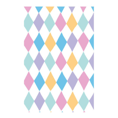Ukrasni papir - šareni romboidi