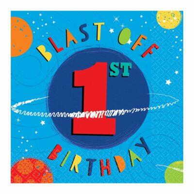 Salvete Blast of 1st birthday 33cm - 16 kom