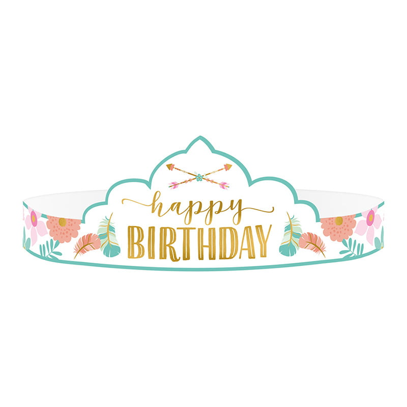Tijara Happy Birthday - 8 kom