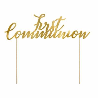Toper za tortu - First Communion