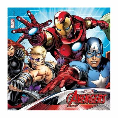 Salvete Avengers 33cm - 20 kom