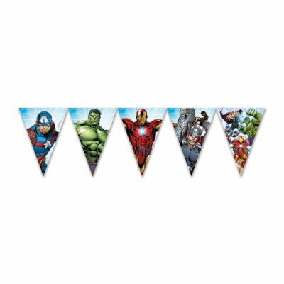 Zastavice Avengers - 2.3m