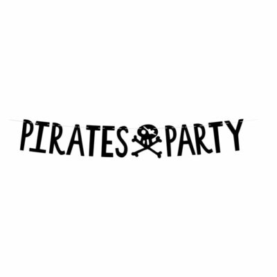 Baner Pirates Party - 100cm