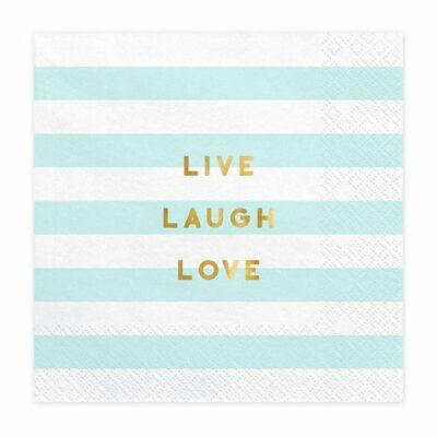 Salvete Live Laugh Love 33cm - 20 kom