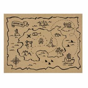 Podmetač Mapa sa blagom - 1kom