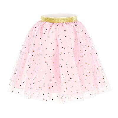 Roze suknja sa zvezdicama
