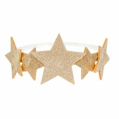 Traka za kosu sa zvezdicama - 12cm