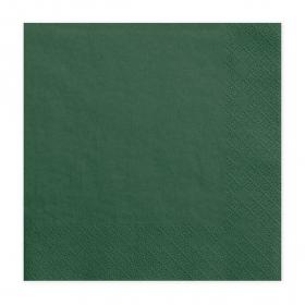 Salvete Tamno zelene 33cm - 20 kom