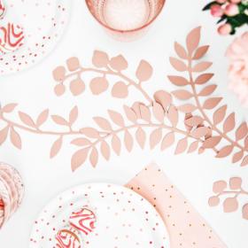 Papirna dekoracija za sto